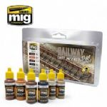AMIG7471 RAILWAY FAST METHOD PAINT SET
